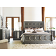 Legacy Classic Tower Suite 4-Piece Metal Panel Bedroom Set in Moonstone