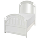 Legacy Classic Kids Academy Twin Panel Bed in White 5811-4103K