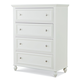 Legacy Classic Kids Academy 4 Drawer Chest in White 5811-2200