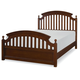 Legacy Classic Kids Academy Full Panel Bed in Cinnamon 5812-4104K