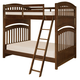 Legacy Classic Kids Academy Full Over Full Bunk Bed in Cinnamon 5812-8150K
