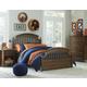 Legacy Classic Kids Academy 4-Piece Panel Bedroom Set in Cinnamon