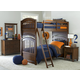 Legacy Classic Kids Academy 4-Piece Bunk Bedroom Set in Cinnamon