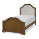 Legacy Classic Kids Danielle Twin Upholstered Panel Bed in French Laundry 5840-4113K