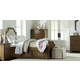 Legacy Classic Kids Danielle 4-Piece Upholstered Panel Bedroom Set in French Laundry