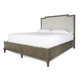 Universal Furniture Playlist Harmony Upholstered Cal King Bed in Brown Eyed Girl 507233A