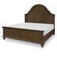 Legacy Classic Renaissance California King Arched Panel Bed in Waxed Oak 5500-4207K