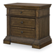 Legacy Classic Renaissance 3 Drawer Nightstand in Waxed Oak 5500-3100