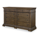 Legacy Classic Renaissance 8 Drawer Dresser in Waxed Oak 5500-1200