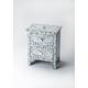 Butler Bone Inlay Vivienne Accent Chest in Blue/White 2865319
