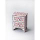 Butler Bone Inlay Vivienne Accent Chest in Pink 2865324