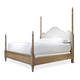 Universal Moderne Muse California King Maison Poster Bed in Bisque 414290CK
