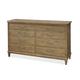 Universal Moderne Muse 8 Drawer Dresser in Bisque 414040