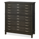 Universal Moderne Muse 5 Drawer Media Chest in Cobalt 414180