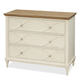 Universal Moderne Muse Bedside Chest in Bisque 414360