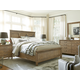 Universal Moderne Muse 4-Piece Panel Bedroom Set in Bisque