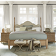 Universal Moderne Muse 4-Piece Maison Poster Bedroom Set in Bisque
