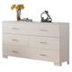 ACME London Drawer Dresser in White 21065