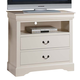 ACME Louis Philippe III TV Console in Cream 22507