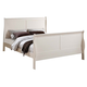 ACME Louis Philippe III Twin Panel Bed in Cream 22515T