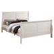 ACME Louis Philippe III Full Panel Bed in Cream 22510F
