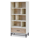 Smartstuff myRoom Bookcase in Gray and Parchment 5321018