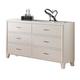 ACME Tyler Drawer Dresser in Real White 22545