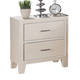 ACME Tyler Drawer Nightstand in Real White 22543