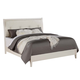 ACME Tyler Full Panel Bed in Real White 22550F