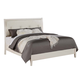 ACME Tyler King Panel Bed in Real White 22537EK