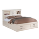 ACME California King Bed w/ Storage in Cream 24394CK
