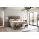 Stanley Villa Couture Alessandra Upholstered Bedroom Set in Glaze