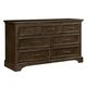 Stone & Leigh Chelsea Square Drawer Dresser in Raisin 584-13-02