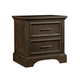 Stone & Leigh Chelsea Square Nightstand in Raisin 584-13-82
