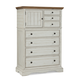 Cresent Fine Furniture Cottage Chest in Two Tone 201-108
