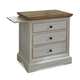 Cresent Fine Furniture Cottage Nightstand in Two Tone 201-112