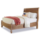 Cresent Fine Furniture Cottage California King Sleigh Panel Bed in Weathered Natural