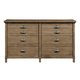 Stone & Leigh Driftwood Park Drawer Dresser in Sunflower Seed 536-13-02