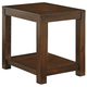 Grinlyn Rectangular End Table in Rustic Brown T660-3