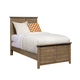 Stone & Leigh Driftwood Park Twin Panel Bed in Sunflower Seed 536-13-35
