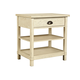 Stone & Leigh Driftwood Park Bedside Table in Vanilla Oak 536-23-80