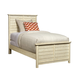 Stone & Leigh Driftwood Park Twin Panel Bed in Vanilla Oak 536-23-35