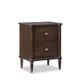 Durham Furniture Highbury Two Drawer Nightstand 3215-202