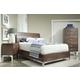 Durham Furniture Defined Distinction 4-Piece Wood Plank Bedroom Set in Cherry