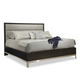 Durham Furniture Defined Distinction Upholstered King Bed in Cherry 157-143