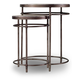 Hooker Furniture Saint Armand Nest of Tables in Light Wood 5601-50001