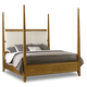 Hooker Furniture Retropolitan Queen Poster Bed in Natural Cherry 5510-90650-MWD