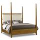 Hooker Furniture Retropolitan California King Poster Bed in Natural Cherry 5510-90660-MWD
