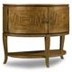 Hooker Furniture Retropolitan Demilune Nightstand in Natural Cherry 5510-90016-MWD