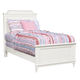 Stone & Leigh Clementine Court Twin Panel Bed in Frosting 537-23-35